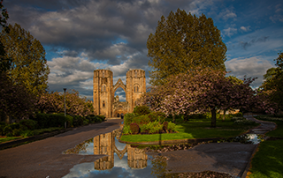 Elgin Cathedral taken by Gary Paul