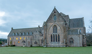 Pluscarden Abbey taken by David Main